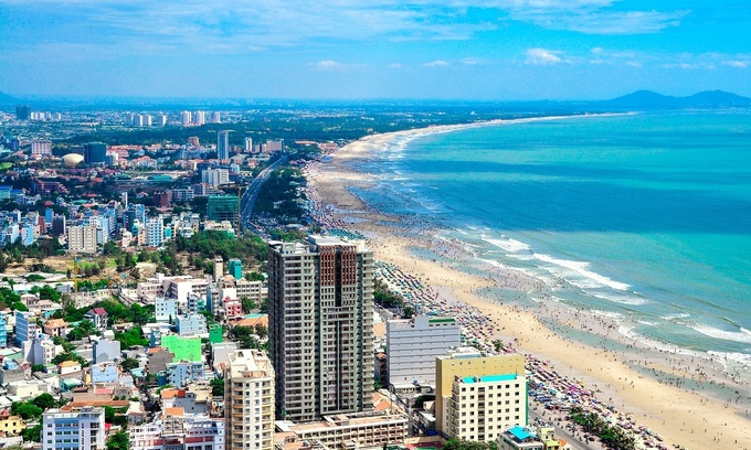 Vung Tau beaches were among most sought after destinations by Vietnamese Googlers in 2019, according a Google report. Photo by Shutterstock/Hang Dinh.