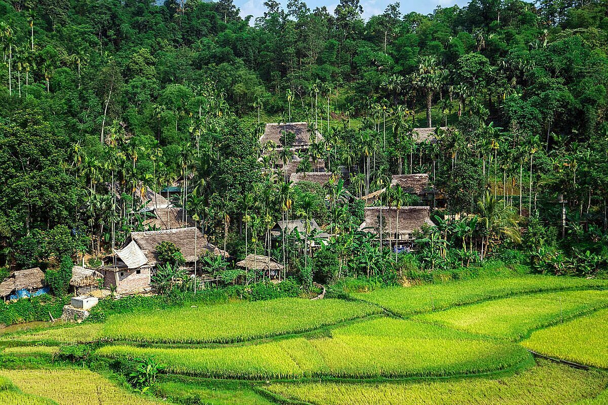 Resort to nature in Pu Luong national reserve