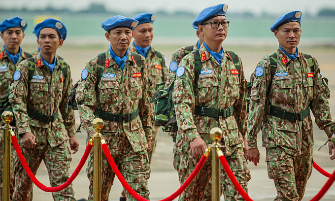 Vietnamese cops readied to join UN peacekeeping missions