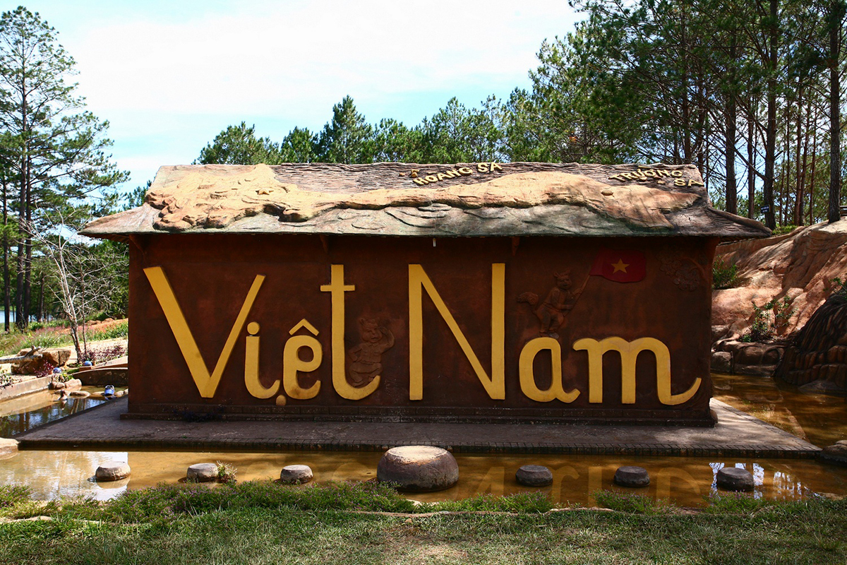 The house has been recognized by Vietnam's record books as the most unique and first unbaked red basaltic soil house and largest unbaked red basaltic soil house with Vietnam's map on the roof.