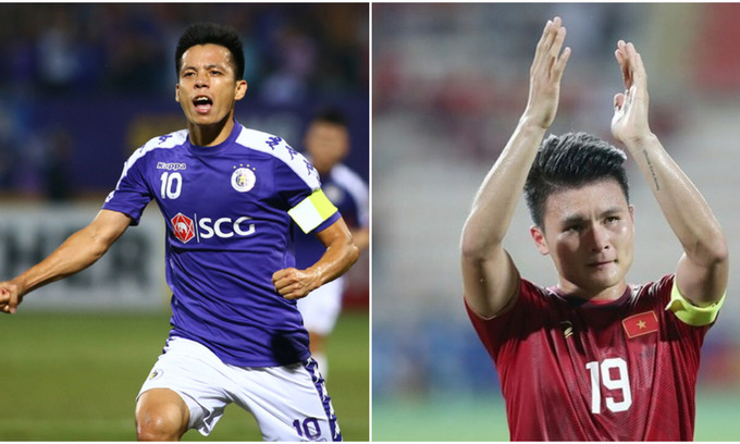 Vietnamese footballers compete for historic AFC Cup goal