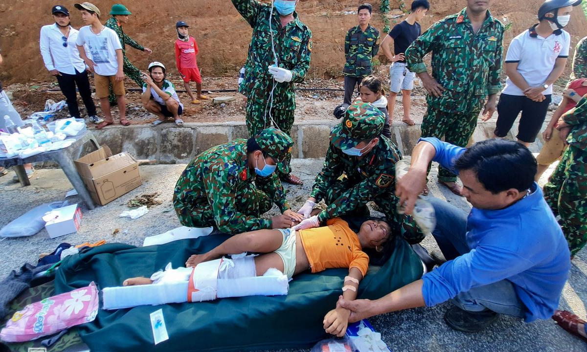 230 succumb to floods, landslides in central Vietnam