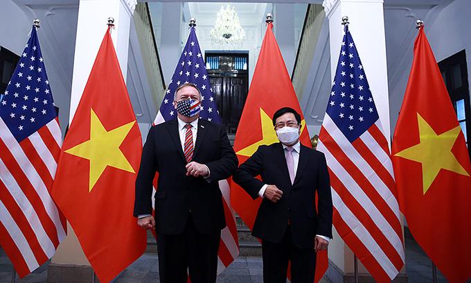 US backs a strong, independent Vietnam: Pompeo