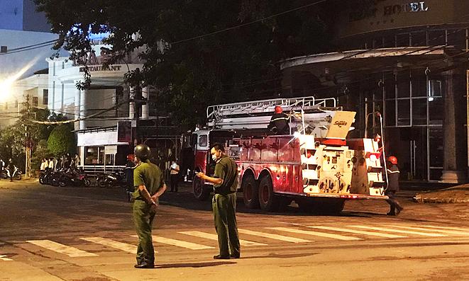 Fire breaks out at Saigon hotel designated as quarantine facility
