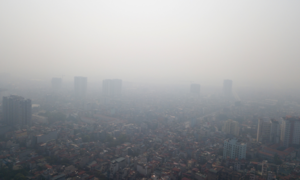 Northern Vietnam records hazardous air pollution