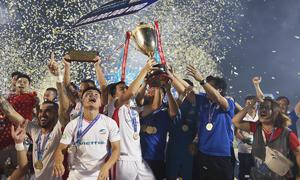 Viettel are Vietnam's new football champions