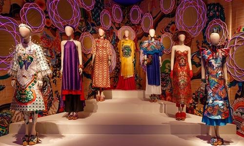 Designer's 'simple dream' exhibition showcases glorious ao dai