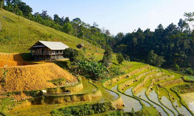Terraced fields, ethnic culture make northern Vietnam village irresistible