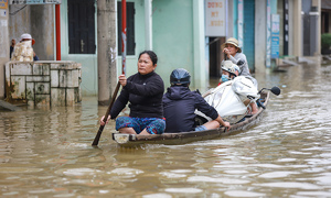 Central Vietnam residents go through hell and high water