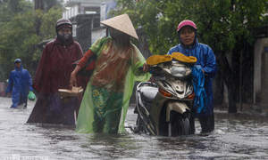 Central Vietnam floods cause bacterial infection outbreak