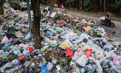 Vietnam's solid waste up 46 pct in decade: report