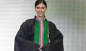 Ethnic brocade takes center highlands stage