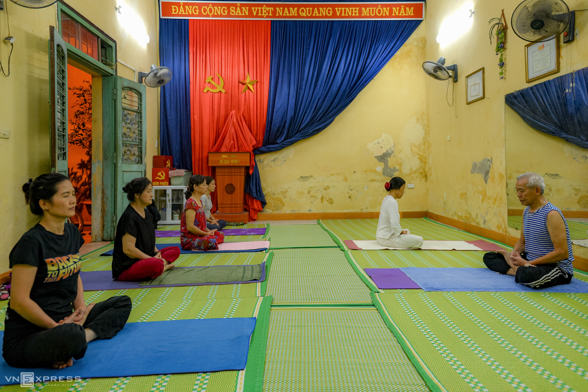 Vietnam's oldest yoga instructor on living a long, happy life