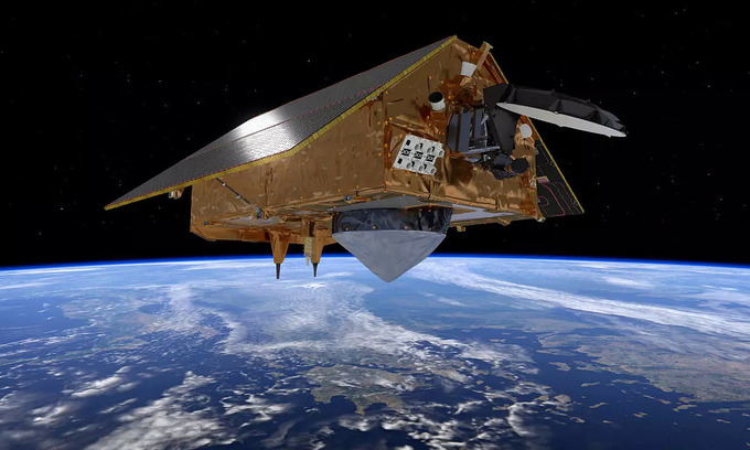 Satellite to track rising seas as climate warms