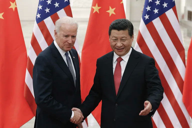 U.S. President-elect Joe Biden (L) and Chinese President Xi Jinping have a history of working together, but the U.S.-China relationship is much more fractured now than it was when Biden was vice president under Barack Obama. Photo by Reuters/Lintao Zhang.