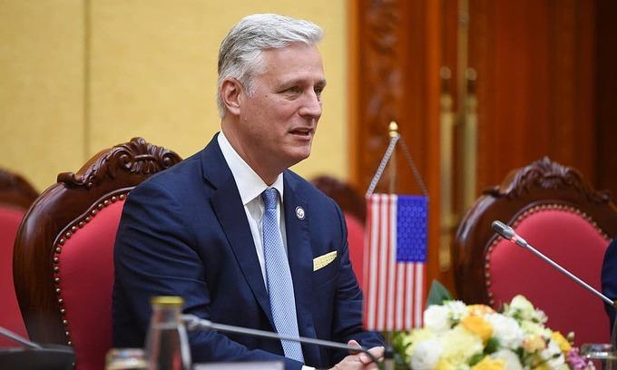 US national security advisor's Vietnam visit cements Southeast Asia commitment