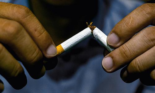 We need to smoke the habit, not window dress it