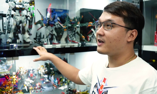 Saigon collector splurges on action figures