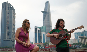 Musical duo reveal why Vietnam is the land of opportunity for expats
