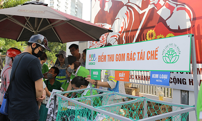 Hanoi to sort burnable trash for efficient waste treatment