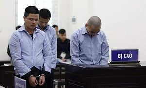 Three Chinese men get death for killing taxi driver in Hanoi
