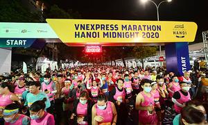 Hanoi nightlife gets a kick from VnExpress Marathon