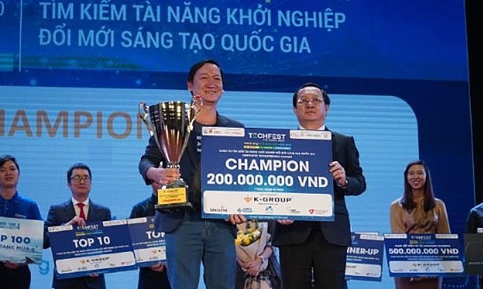 Livestream support tool wins Vietnam technopreneur contest