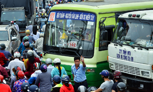 HCMC approves 1st bus rapid transit route