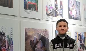 Hanoi exhibition sheds light on lives of homeless children