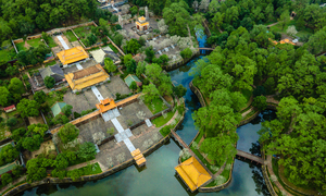 An aerial exploration of Hue's imperial tombs