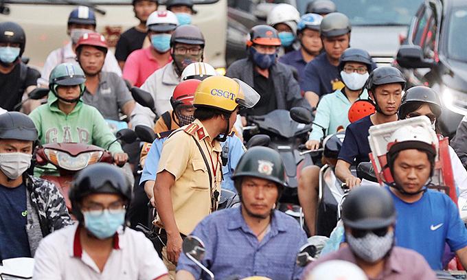 HCMC estimates motorbike emission testing plan to cost $24 mln