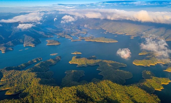 Ta Dung Lake is part of UNESCO-recognized Dak Nong geopark in Vietnams Central Highlands. Photo by Pham Huy Trung.