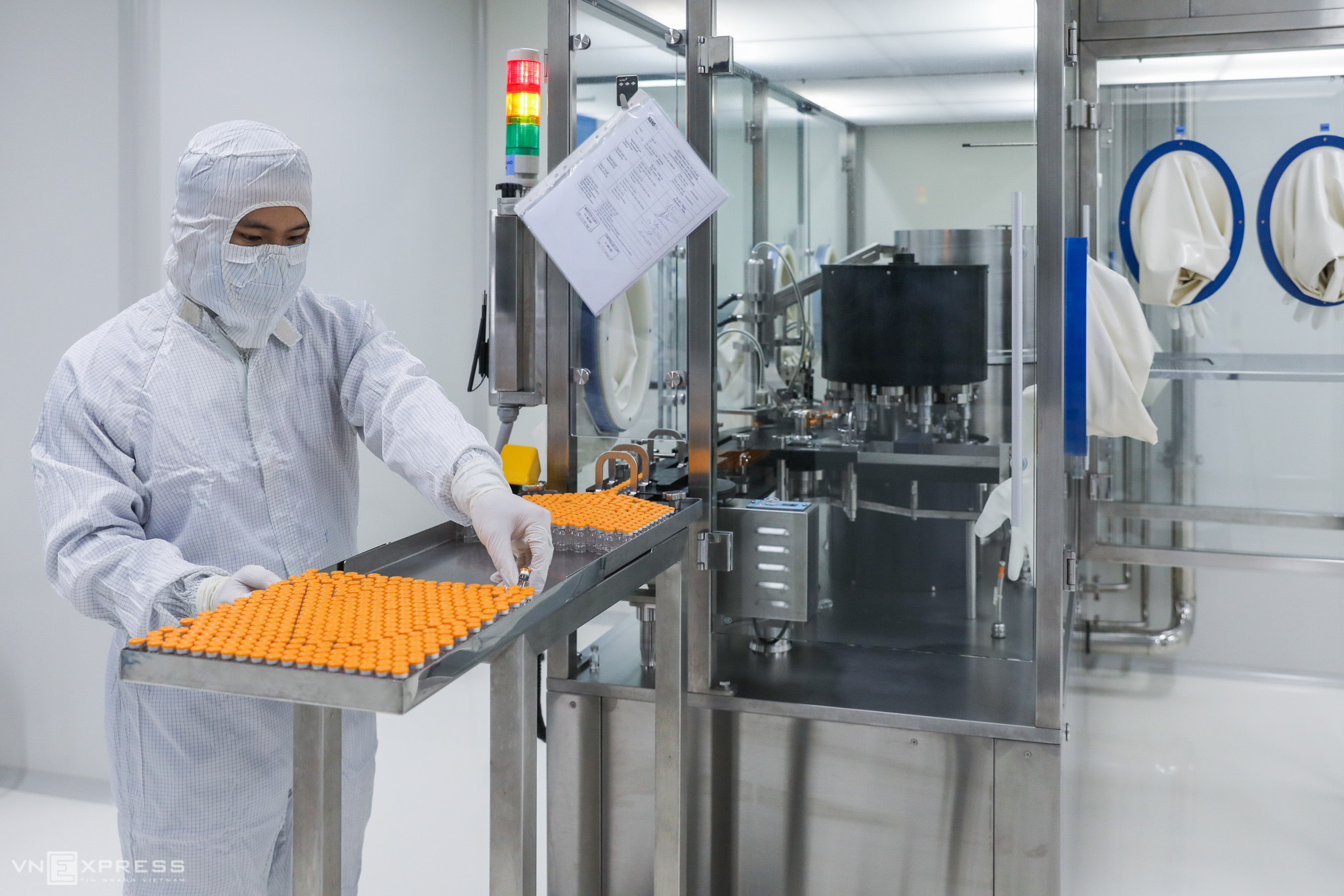 How Vietnam produces its Covid-19 vaccine