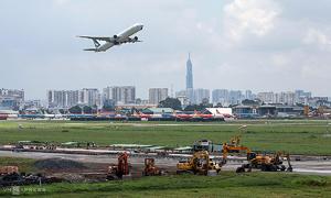 Upgraded Tan Son Nhat airport runway to begin trial run