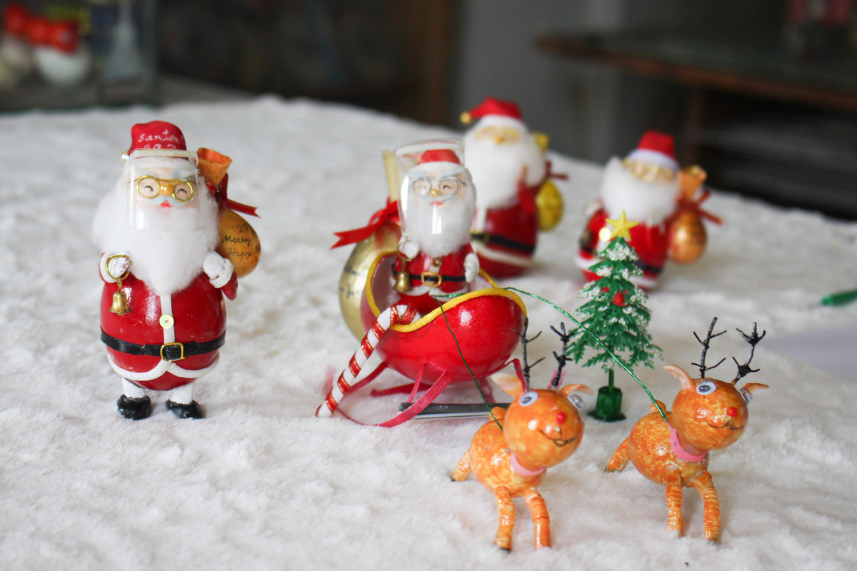 Before getting down to business, Tam had to examine the shapes and details closely. I did not only reference images but read many documents about Christmas to equip myself with more relevant knowledge, he said.