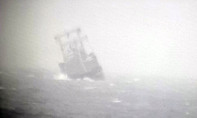 15 Chinese, Vietnamese crew missing after Panamanian vessel sinks near central coast