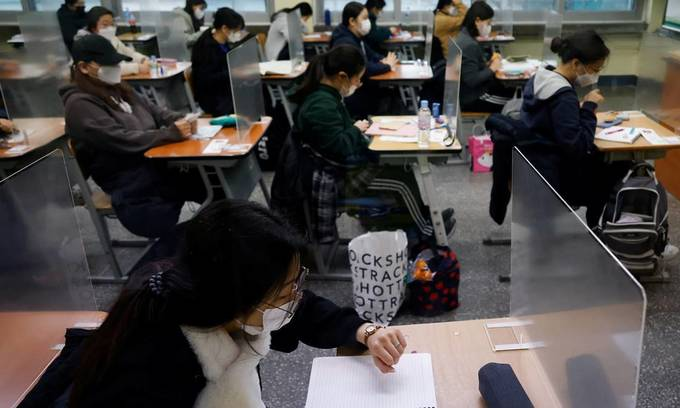 Apprehension as 21 Vietnamese students in South Korea test positive for coronavirus