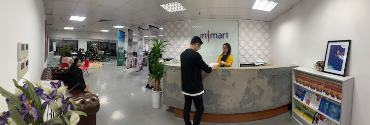 Insmart's office in Ba Dinh District, Hanoi.