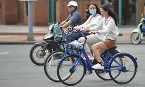 Downtown Saigon to pilot public bicycles
