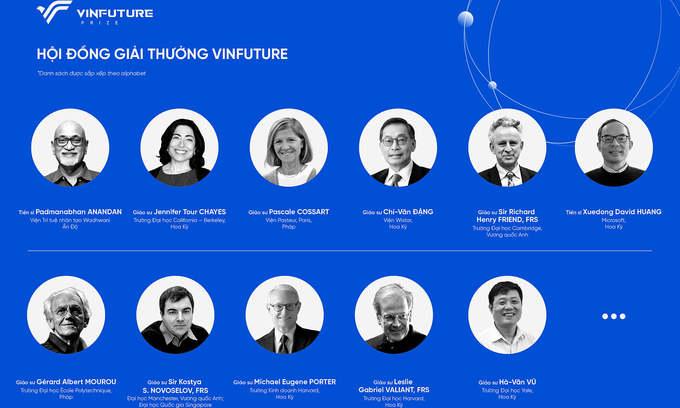 Vietnamese billionaire launches global sci-tech prize