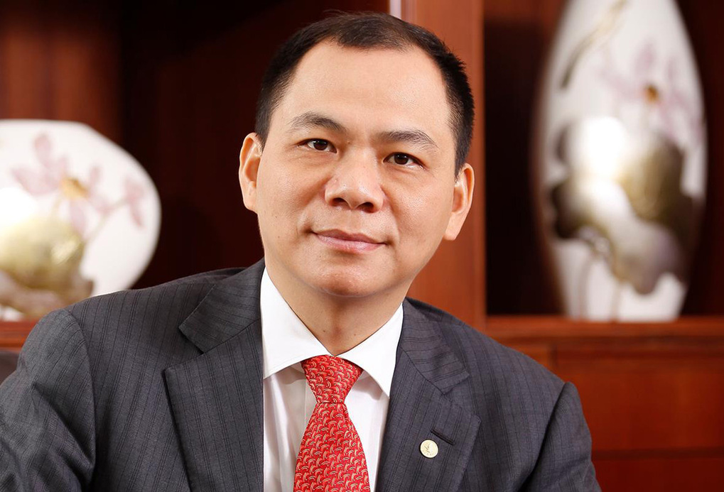 Pham Nhat Vuong, founder and chairman of Vingroup. Photo courtesy of VinFuture.