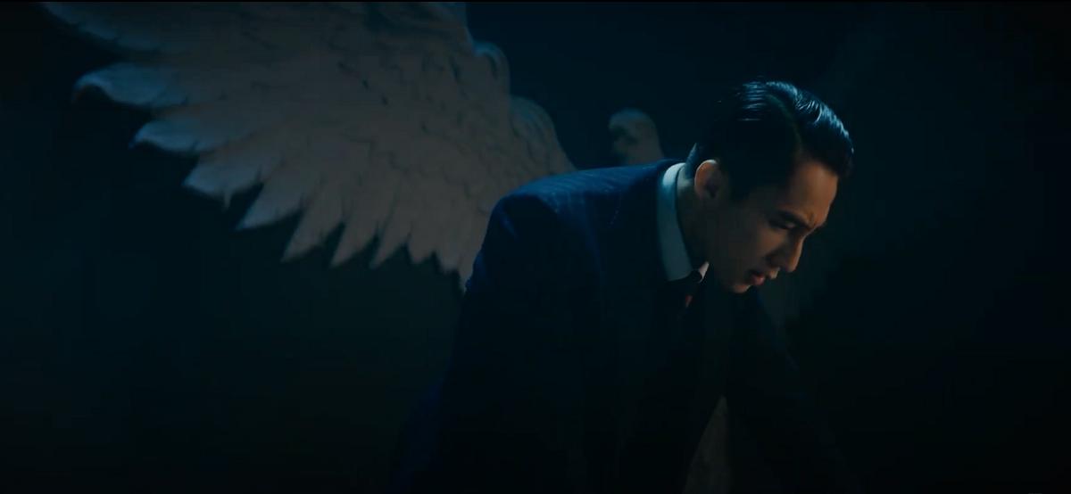 Son Tung M-TP in his latest release Chung ta cua hien tai. Screenshot taken from his music video