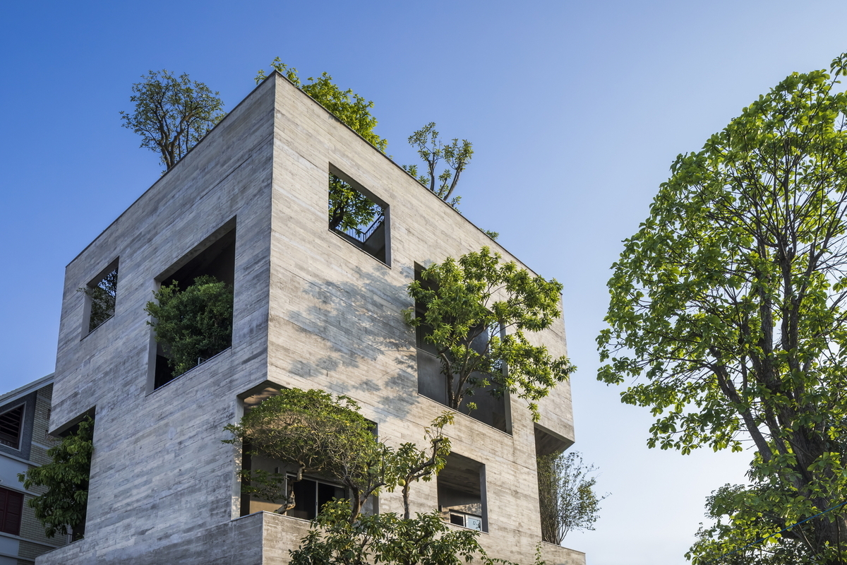 Seven Vietnamese homes included in top 100 architectural projects - 8