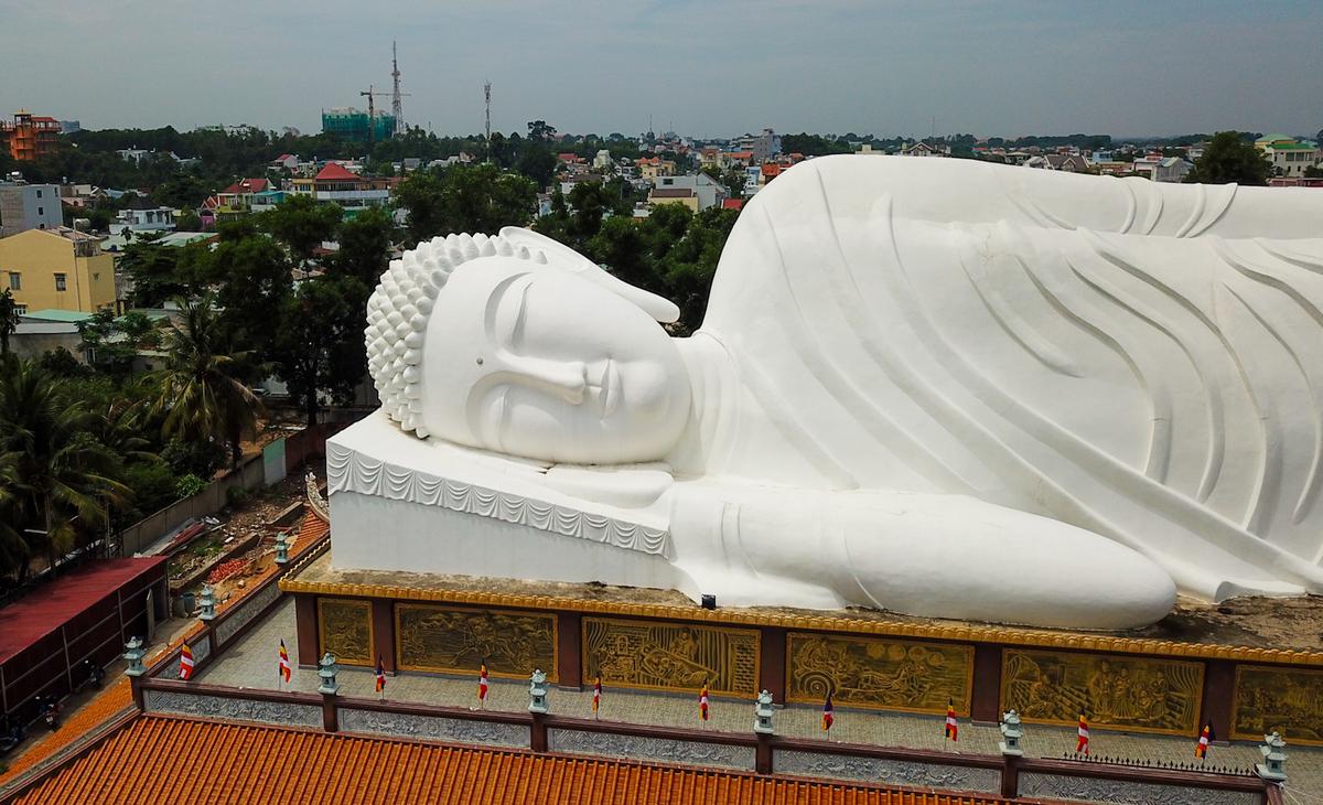 Hoi Khanh Pagoda. Photo by VnExpress/Quynh Tran.