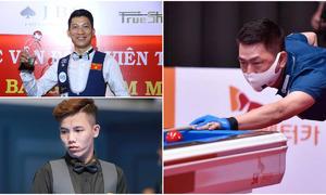 Three Vietnamese cueists vie in PBA 3-cushion carom tourney