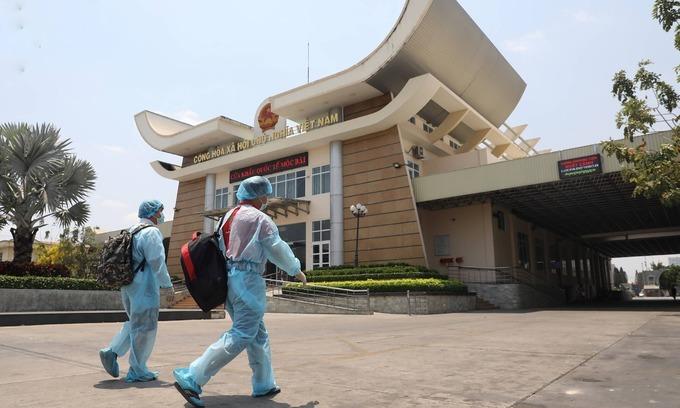 Cambodia arrests seven illegal Vietnamese entrants amid Covid-19 fears