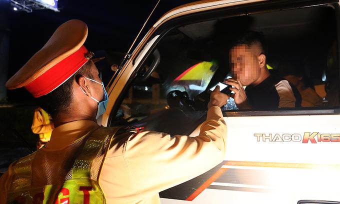 Vietnam's tough drunk driving law gets the 'tough' going