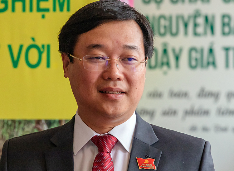 Le Quoc Phong, 42, is currently the youngest provincial-level Party secretary in Vietnam. Photo by VnExpress/Hong Ngu