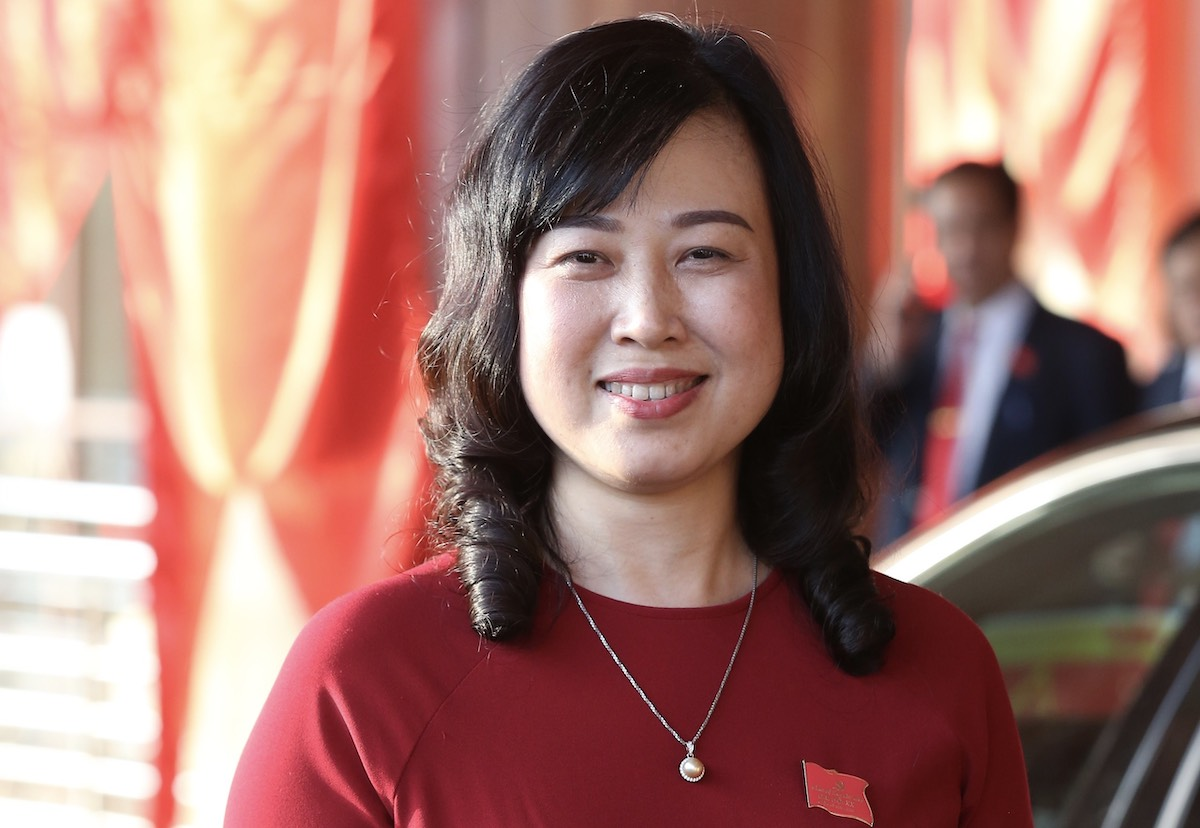 Dao Hong Lan,  49, the first ever female Party secretary of northern Bac Ninh Province. Photo by VnExpress/Hoang Phong