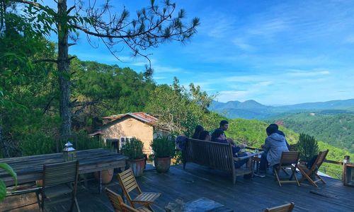 Hillside Da Lat cafe serves coffee with a vista twist
